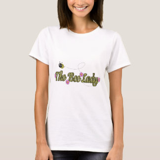 the bee lady with flowers T-Shirt