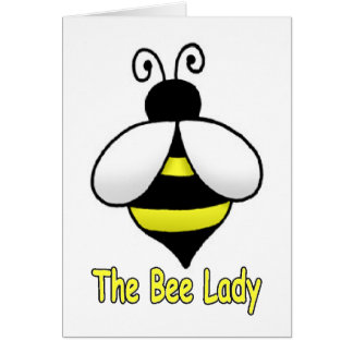 The Bee Lady yellow Card