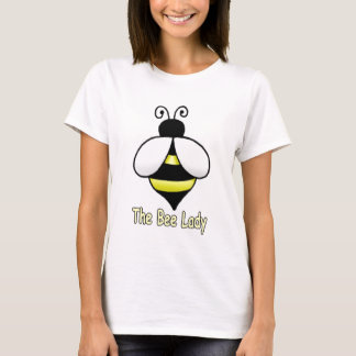 The Bee Lady yellow T-Shirt