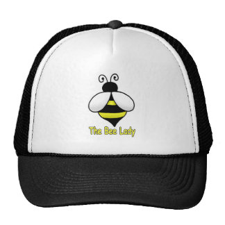 The Bee Lady yellow Trucker Hat