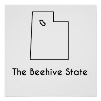 The Beehive State Poster