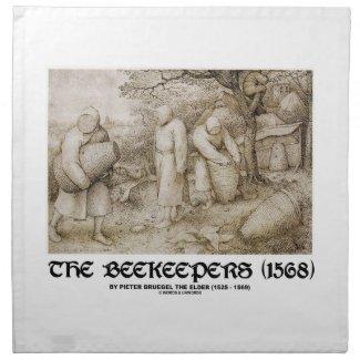 The Beekeepers (1568) Pieter Bruegel The Elder Napkin
