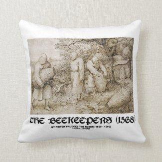 The Beekeepers (1568) Pieter Bruegel The Elder Pillow