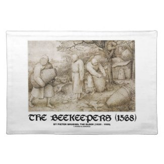 The Beekeepers (1568) Pieter Bruegel The Elder Placemat