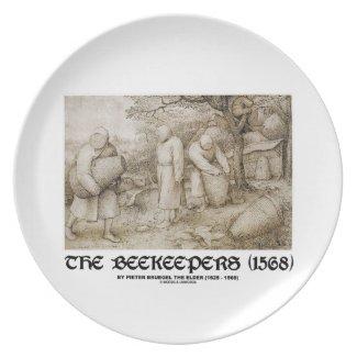 The Beekeepers (1568) Pieter Bruegel The Elder Party Plates