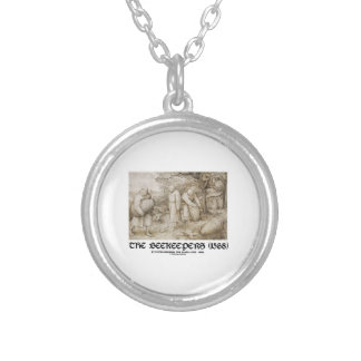 The Beekeepers (1568) Pieter Bruegel The Elder Silver Plated Necklace