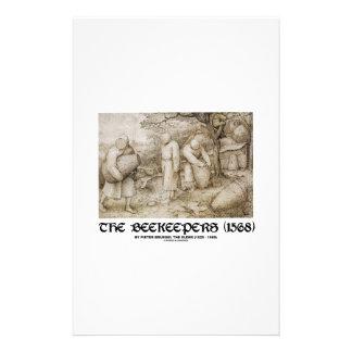The Beekeepers (1568) Pieter Bruegel The Elder Stationery