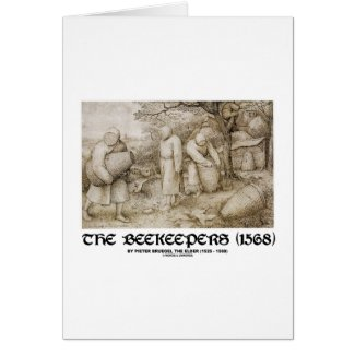 The Beekeepers (1568) Pieter Brugel The Elder Cards