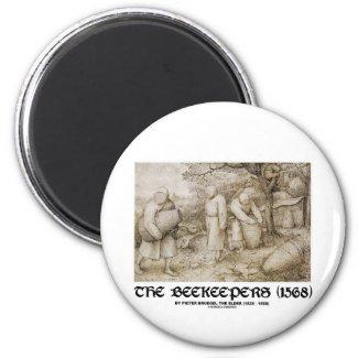 The Beekeepers (1568) Pieter Brugel The Elder Magnet