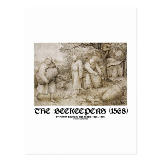 The Beekeepers (1568) Pieter Brugel The Elder Postcard