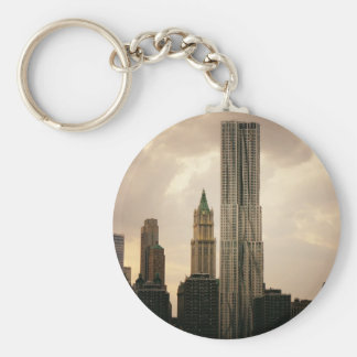 The Beekman Tower and Woolworth Building Keychain