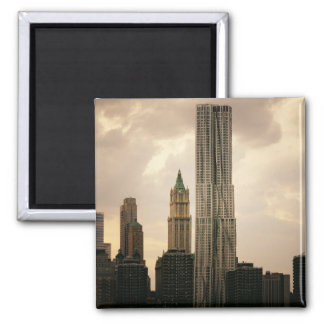 The Beekman Tower and Woolworth Building Refrigerator Magnets