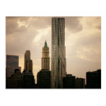 The Beekman Tower and Woolworth Building Postcard