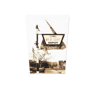 The Beer Depot Ann Arbor Michigan Canvas Print