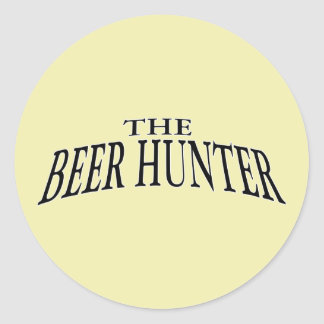 The Beer Hunter ~ Ale Lager Beers Sticker
