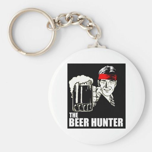 The Beer Hunter Key Chain