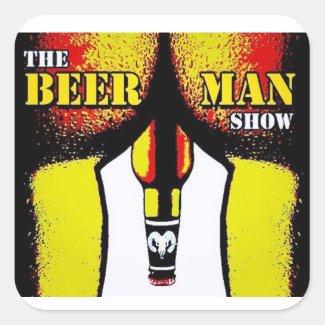 The Beer Man Show 3 bottles of beer