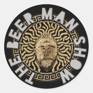 The Beer Man Show Bronze Medussa Sticker