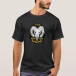 THE  BEER MAN SHOW Goat Skull T-shirt