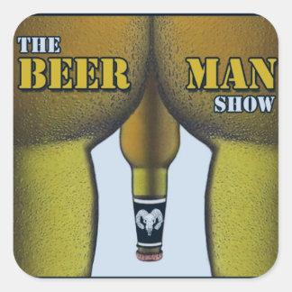THE BEER MAN SHOW - Manhood Sticker