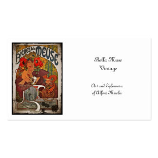 The Beer Muse Business Card