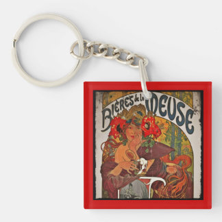 The Beer Muse Keychain