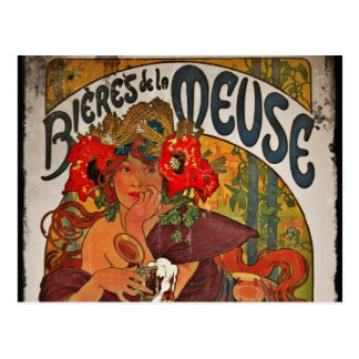 The Beer Muse Post Card