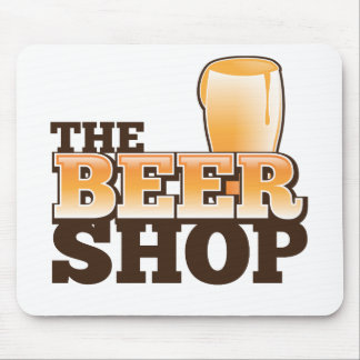 The Beer Shop main logo Mouse Pad