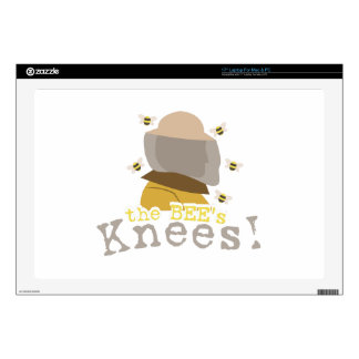 "The Bees Knees! Decal For 17"" Laptop"