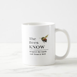 The Bees Know Coffee Mug