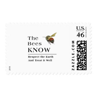 The Bees Know Postage Stamps