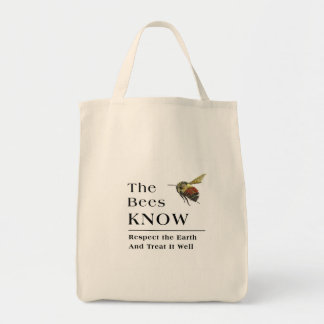 The Bees Know Tote Bag