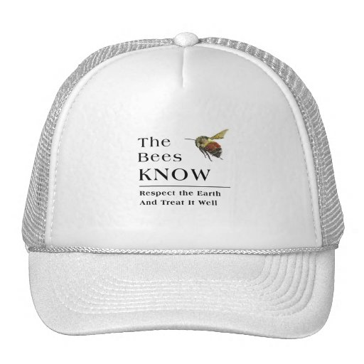 The Bees Know Trucker Hat