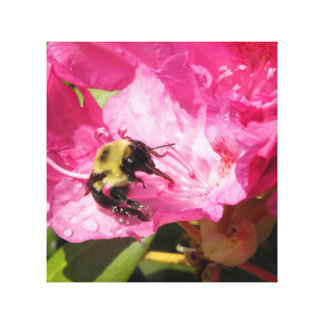 The Bees Tongue Canvas Print