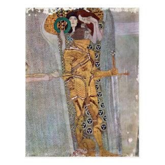 The Beethoven Freize by Gustav Klimt Postcard