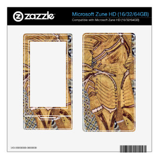 The Beethoven Freize by Gustav Klimt Decal For The Zune HD