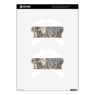 The Beethoven Frieze: The Hostile Powers. Far Wall Xbox 360 Controller Skin