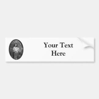 The Beggar Maid / Alice Liddell ~ 1859 Car Bumper Sticker