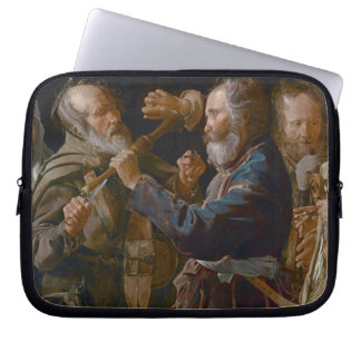The Beggars' Brawl, c.1625-30 (oil on canvas) Computer Sleeve
