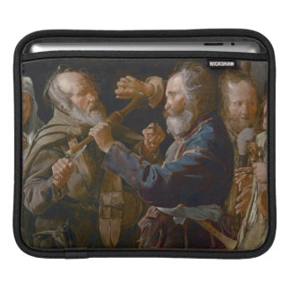 The Beggars' Brawl, c.1625-30 (oil on canvas) Sleeve For iPads