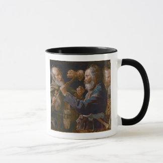 The Beggars' Brawl, c.1625-30 (oil on canvas) Mug