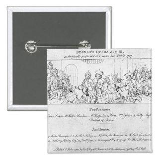 The Beggar's Opera' Button