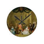 The Beggar's Opera, Scene III, Act XI, 1729 (oil o Wall Clocks