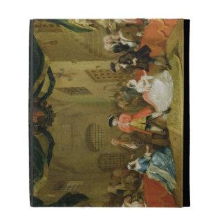 The Beggar's Opera, Scene III, Act XI, 1729 (oil o iPad Case