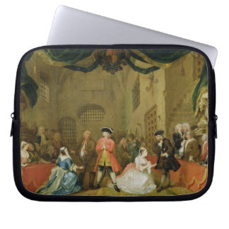 The Beggar's Opera, Scene III, Act XI, 1729 (oil o Laptop Sleeve