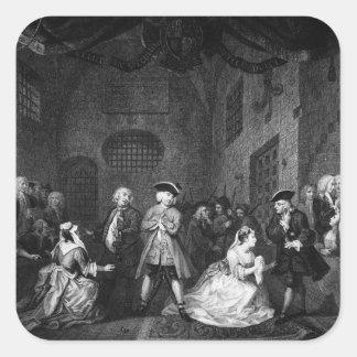 The Beggar's Opera, Scene III, Act XI, c.1728 Sticker