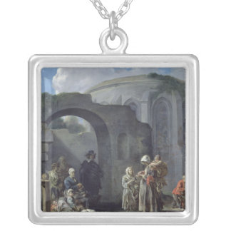 The Beggars Silver Plated Necklace