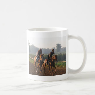 The Beginners - Young Thorougbreds in Training Coffee Mug