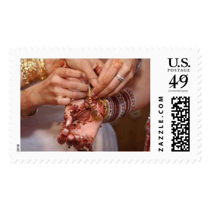 The Beginning of Forever Postage Stamp