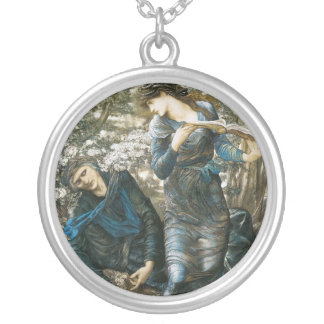 The Beguiling of Merlin Round Pendant Necklace